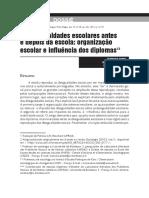 As desigualdades escolares antes e depois da escola-organização escolar e influencia dos diplomas- Francois Dubet.pdf