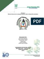 Informe de Toxicología