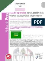 Fichas15 Modelo Gestion Violencia Ocupacional Origen Externo