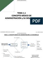 Tema 1.1 Concepto básico de administración y su desarrollo.pdf