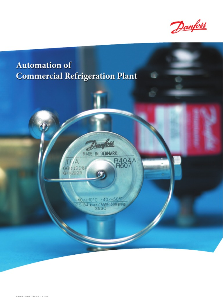 Danfoss Automation Of Commercial Refrigeration Plant Refrigerator Plants Wiring Diagrams Valve