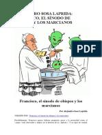 Alejandro Sosa Laprida El Sínodo y Los Marcianos