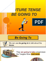 Future Tense Be Going To