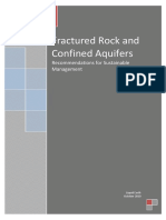 Management of Fractured Rock and Confined Aquifers 2010 (1)