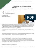 Print Portugal Recomprou 250 Milhões Em Dívida Para Aliviar Reembolsos Em 2019 e 2021 - Obrigações - Jornal de Negócios
