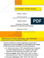 Principles of Einstein-Finsler Gravity