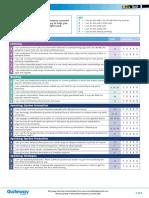 B2+ UNIT 1 CEFR checklist