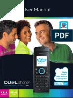 RTX Dualphone 3088 Skype Cordless Phone Manual