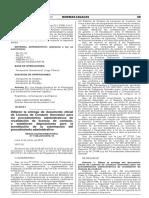 Res. Dir. N° 1166-2018-MTC