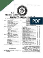 US Marine Corps - Hand to Hand Combat