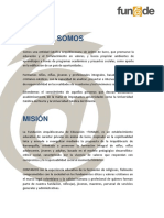 Portafolio de Servicos Funade 2017
