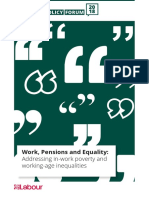 In-work Poverty and Working-Age Inequality