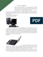 Los Tipos de Computadoras