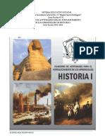 Cuaderno de Fortalecimiento Historia 1