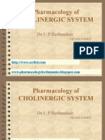 Class 1 Pharmacology of Cholinergic System