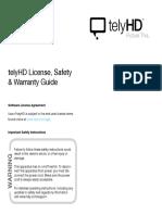 TelyHD Warranty SafetyGuide