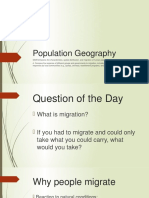 ALLISON FORAN - Population Geography Guided Notes