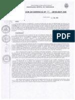 Resol Gerencia 114 2018 GM