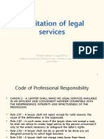 3. Solicitation of Legal Services