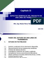 Cap II Aspectos Generales Del Proyecto de LLTT