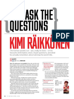 You Ask The Questions - Kimi Räikkönen