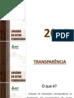 Ferrovias - Anuario Estatistico 2017 - Apresentação