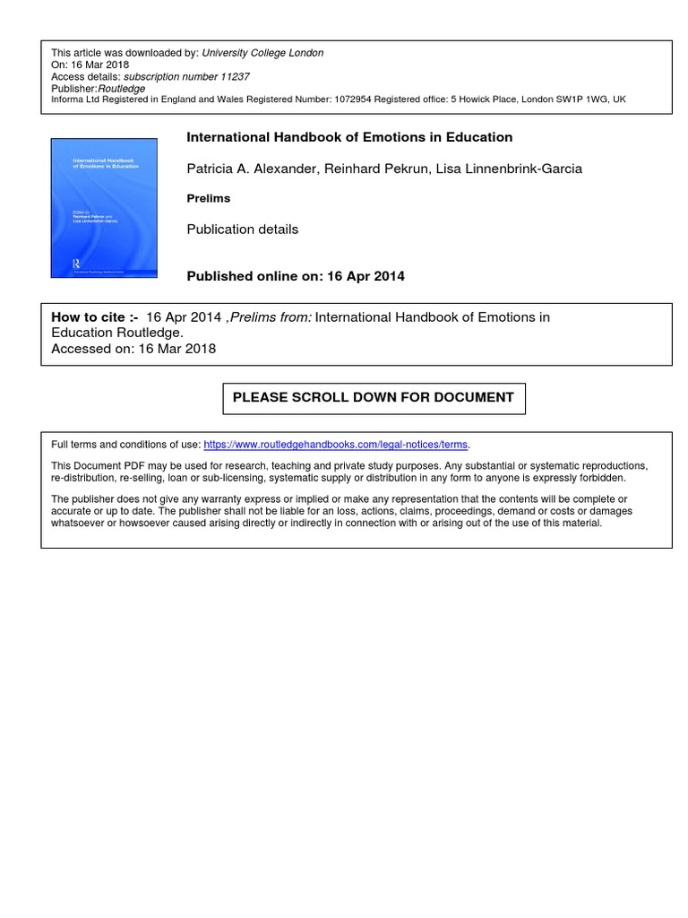 Pekrun r and linnenbrick garcia l 2014 international handbook pekrun r and linnenbrick garcia l 2014 international handbook of emotions in educationpdf emotions self improvement fandeluxe Image collections