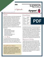 Fyrquel EHC Product Bulletin
