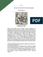 Husserl La Psicología en La Crisis de La Ciencia Europea
