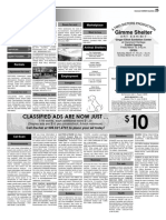 Claremont COURIER Classifieds 3-16-18