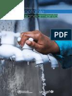 Progresos en Materia de Agua Potable y Saneamiento UNICEF 2014