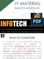 Infotech - Informatics Assistant