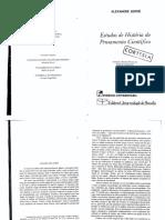 KOYRÉ_Estudos de História do Pensamento Científico
