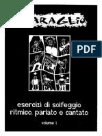 [E-book solfeggio] SBARAGLIO - Solfeggio ritmico, parlato e cantato (Vol 1).pdf