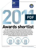 International Truck, Van and Pickup of the Year shortlists 2011 from Commercial Motor