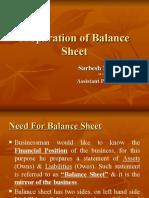 Preparation of Final Accounts