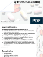 Drug-Drug Interactions (DDIs)