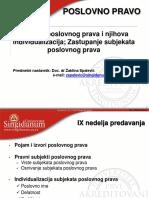 Poslovno Pravo_Predavanja Nedelja IX
