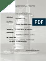 INFORME DE TODOS LOS ENSAYOS DE TECNOLOGÍA DE CONCRETO