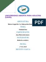 Tarea 2 Marco Legal de La Educacion