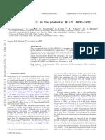 BbBO in the Protostar IRAS