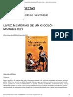 Livro Memórias de Um Gigolô- Marcos Rey – Garotas Discretas