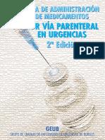 Guía de administración de medicamentos por vía parenteral en urgencias - 2da Edición.pdf