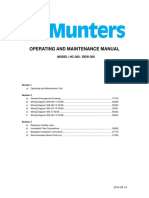 Manual de Mantenimiento Munters