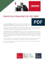 Gestión de La Seguridad Vial ISO 39001