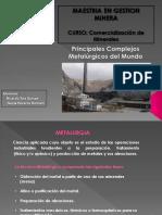 Principales Complejos Metalurgicos Del Mundoo