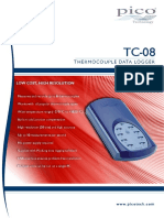 Usb Tc 08 Thermocouple Data Logger Data Sheet