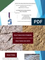 Fracturas Por Extensión Y POR CORTE