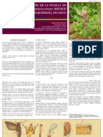 Morfologia y Biologia de La Polilla de La Quinua Eurysacca Melanocampta