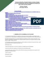 Instructiuni Tehnice Pentru Proiectarea Si Executarea Peretilor Si Acoperisurilor Din Elemente Din Bca p104-83
